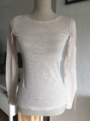 Marc O Polo Shirt Langarmshirt Basicshirt creme MOP Gr. XS 34