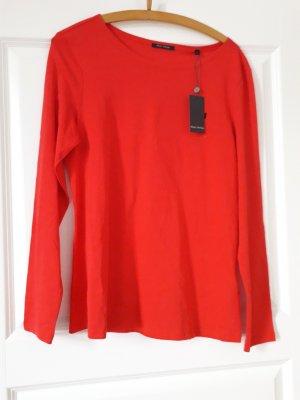 Marc O'Polo Batik shirt donkerrood