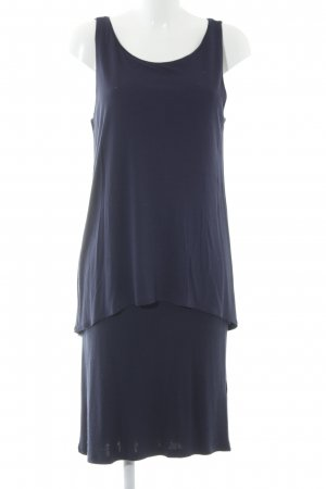 Marc O'Polo Shirtkleid dunkelblau schlichter Stil