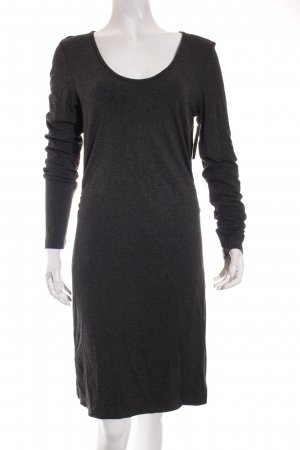 Marc O'Polo Shirtkleid dunkelgrau Casual-Look