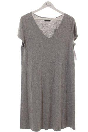 Marc O'Polo Shirtkleid hellgrau-grau meliert minimalistischer Stil
