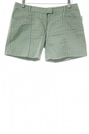 Marc O'Polo Shorts abstraktes Muster Casual-Look