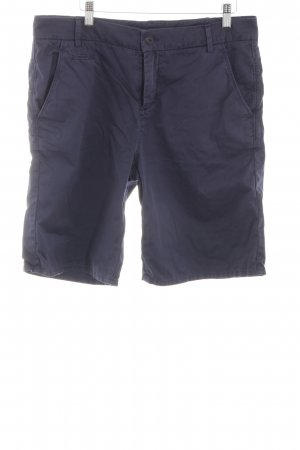 Marc O'Polo Shorts blau Casual-Look