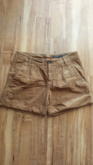 Marc O'Polo Shorts Cord cognac