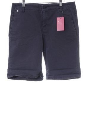Marc O'Polo Shorts stahlblau Casual-Look