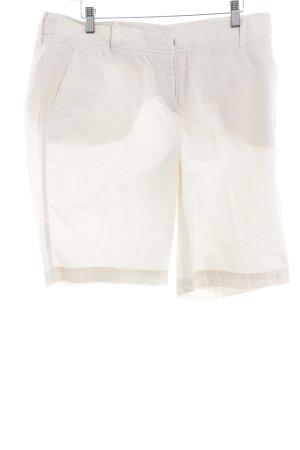 Marc O'Polo Shorts wollweiß Casual-Look