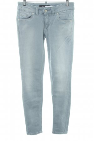 Marc O'Polo Skinny Jeans blassblau Washed-Optik