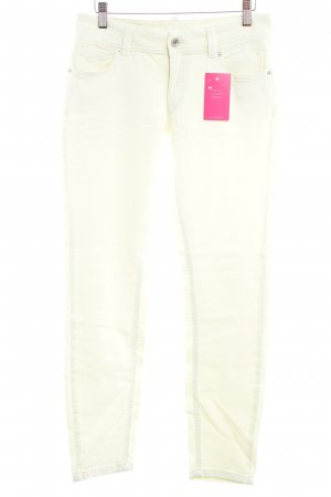 Marc O'Polo Skinny Jeans blassgelb Casual-Look
