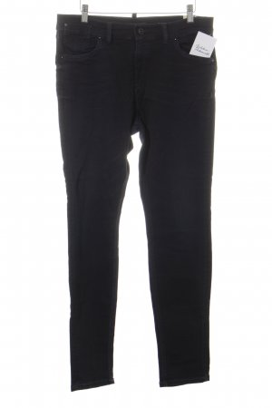 Marc O'Polo Skinny Jeans dunkelblau-blau Washed-Optik