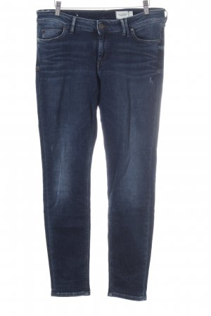Marc O'Polo Skinny Jeans dunkelblau Washed-Optik