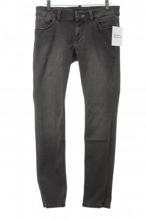 Marc O'Polo Skinny Jeans grau-wollweiß Casual-Look