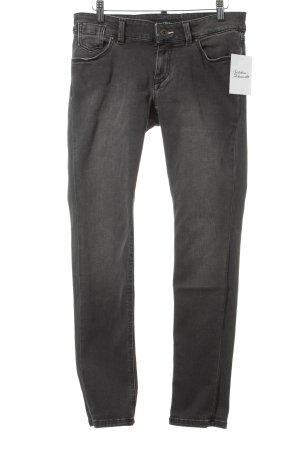 Marc O'Polo Skinny Jeans grau-wollweiß Casual-Look