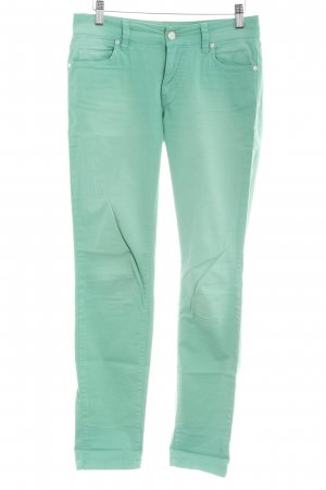 Marc O'Polo Skinny Jeans grün-hellgrün Colourblocking Casual-Look