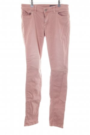 Marc O'Polo Skinny Jeans hellrot-altrosa Casual-Look