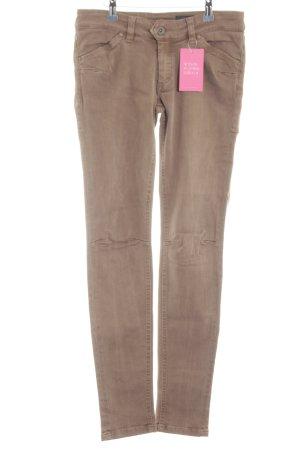 "Marc O'Polo Skinny Jeans ""Skara Dart"" hellbraun"