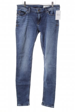 Marc O'Polo Skinny Jeans stahlblau Street-Fashion-Look