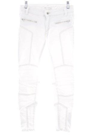 Marc O'Polo Skinny Jeans wollweiß