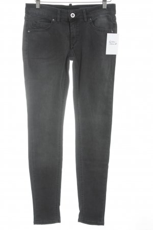 Marc O'Polo Slim Jeans anthrazit Biker-Look