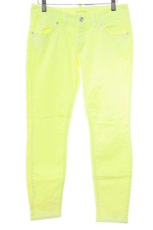 Marc O'Polo Slim Jeans blassgelb Casual-Look