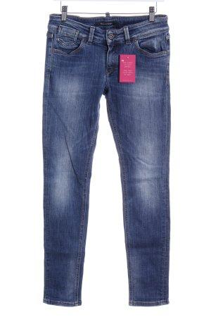 Marc O'Polo Slim Jeans blau-hellbeige Casual-Look