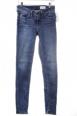 Marc O'Polo Slim Jeans blau Street-Fashion-Look