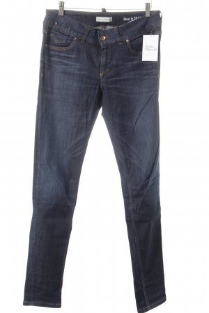 Marc O'Polo Slim jeans donkerblauw simpele stijl