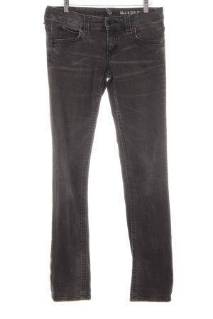 Marc O'Polo Jeans slim gris foncé style seconde main