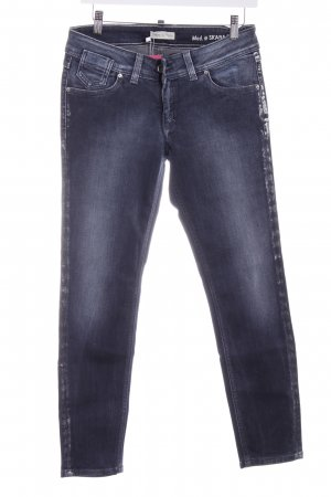 Marc O'Polo Slim Jeans graublau Washed-Optik