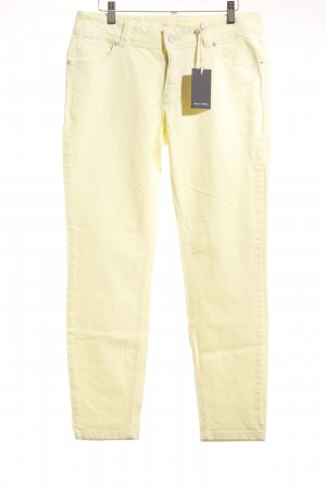 Marc O'Polo Slim Jeans hellgelb Street-Fashion-Look