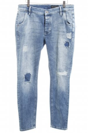 Marc O'Polo Slim Jeans kornblumenblau Casual-Look