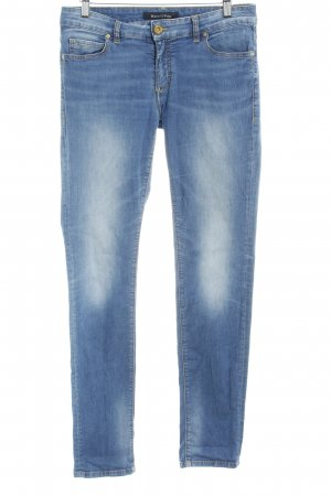 Marc O'Polo Slim Jeans cornflower blue flecked casual look