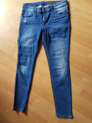 Marc O'Polo Slim Jeans mit Patches