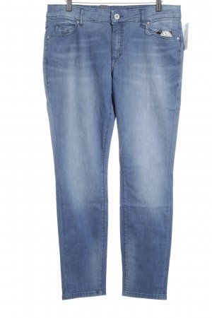 Marc O'Polo Slim Jeans stahlblau Bleached-Optik