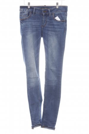 Marc O'Polo Slim Jeans stahlblau Casual-Look