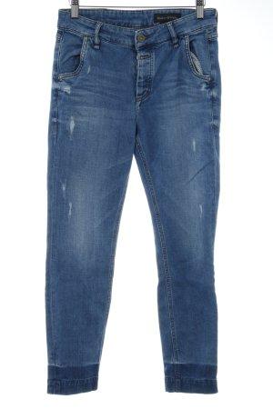 Marc O'Polo Slim Jeans stahlblau Casual-Look