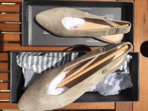 Marc O'Polo Slingback Ballerina beige taupe Gr 37.5 NEU