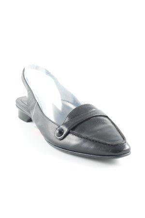 Marc O'Polo Slingback Ballerinas schwarz Business-Look
