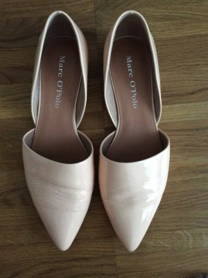 Marc O'Polo Slipper Loafer Lack Nude Gr. 38