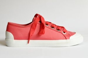 Marc O'Polo Sneaker in Satin-Qualität 80314553501607 coral Gr. 40