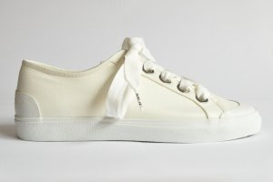 Marc O'Polo Sneaker in Satin-Qualität 80314553501607 offwhite Gr. 40