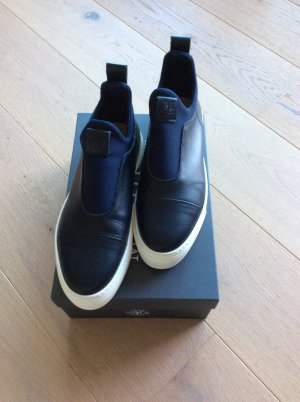 Marc O'Polo Slip-on Sneakers steel blue leather