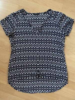 Marc O'Polo sommerliche gemusterte T-Shirt Bluse in 34