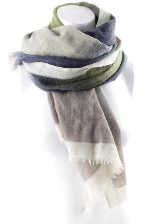 Marc O'Polo Écharpe d'été gris vert-vert gradient de couleur