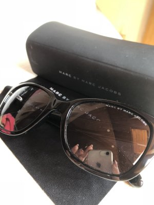 Marc O'Polo Hoekige zonnebril zwart
