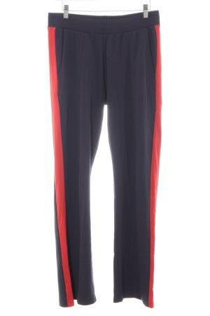Marc O'Polo Sporthose rot-dunkelblau sportlicher Stil