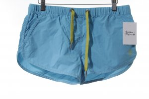 Marc O'Polo Sportshorts kadettblau-limettengelb sportlicher Stil