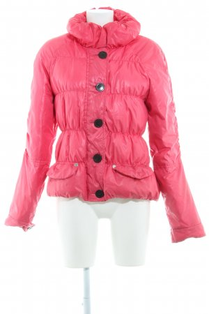 Marc O'Polo Steppjacke pink-schwarz Street-Fashion-Look
