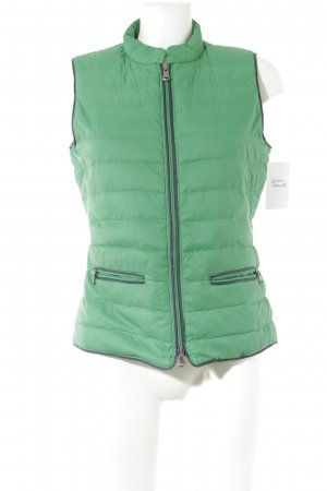Marc O'Polo Quilted Gilet green athletic style