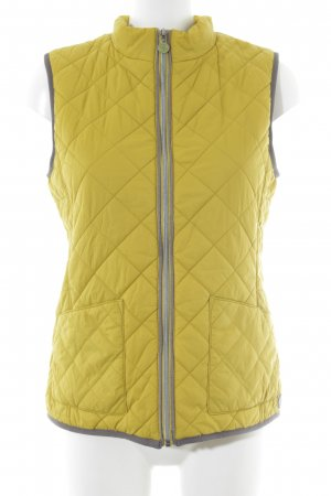Marc O'Polo Quilted Gilet lime yellow casual look