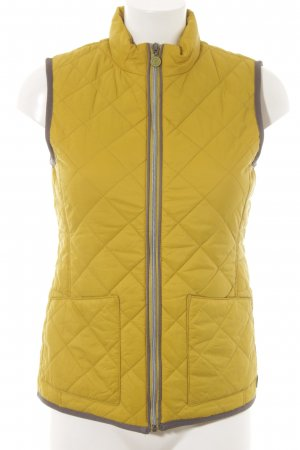 Marc O'Polo Quilted Gilet lime yellow-grey casual look
